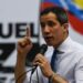 """Venezuelan opposition leader Juan Guaido delivers a speech during a rally on the launch of the campaign """"Venezuela raises its voice"""" in Caracas, on October 22, 2020. (Photo by Federico PARRA / AFP)"""